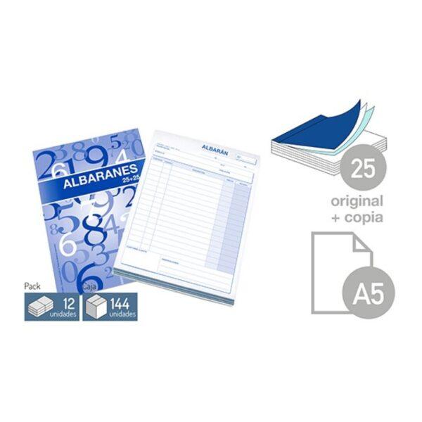 Talonario Albaran - DIN-A5 25 juegos 1 copia